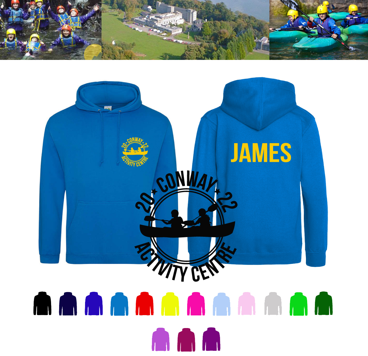 Conway Activity Centre Hoodies