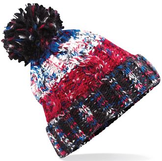 8e07fa7155c Wooly hat chester. Adults. Union Jack Winter Bobble Hat
