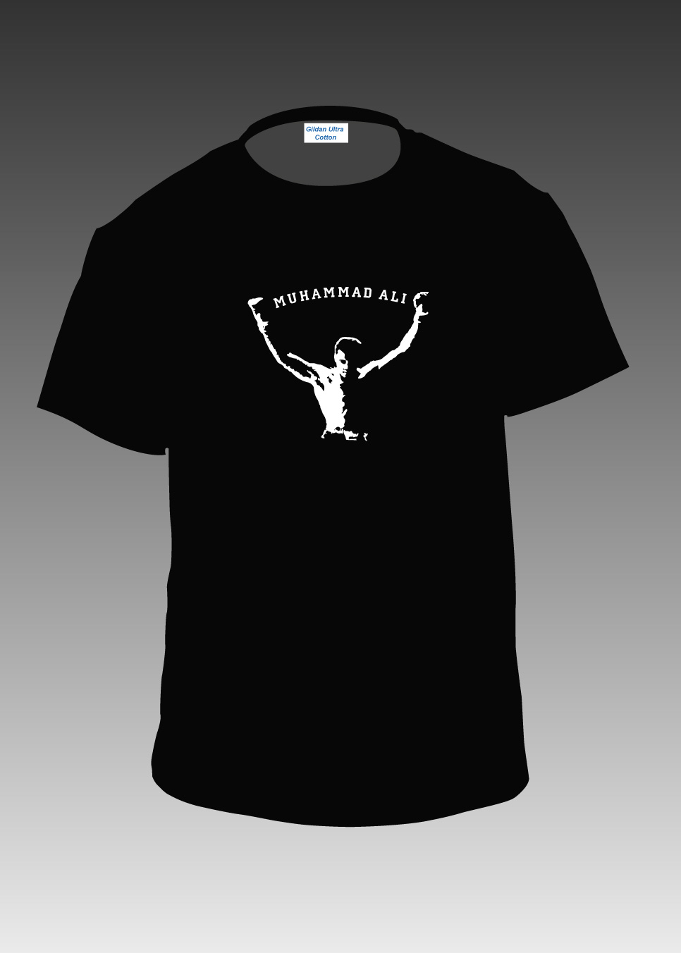 Muhammad ali champion t shirt wholesale t shirts cool funky