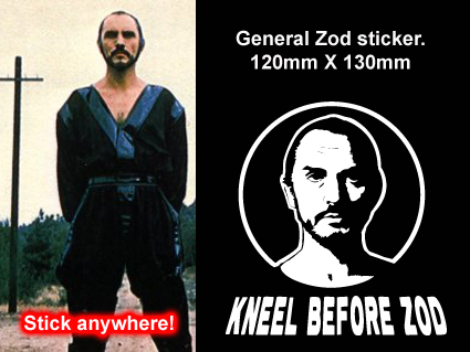 General zod stickers